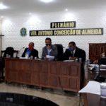 Sessão Ordinária da Câmara Municipal de Vereadores de São Felipe 15.09.2020