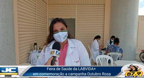 Feira de Saúde da LABVIDA, Campanha Outubro Rosa, Dra. Ana Mendes